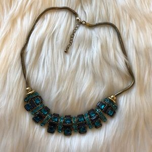 Statement Necklace H&M Turquoise